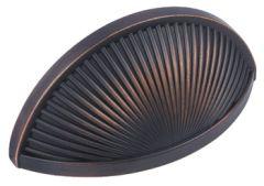 Sea Grass Cup Pull Handle-Oil Rubbed Bronze