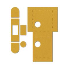 Intumescent Self Adhesive Kit for Eurospec Flat Latch Pack