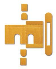 Intumescent Self Adhesive Kit for Eurospec Dead Locks