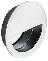 Carlisle Brass Eurospec Steelworx Circular Flush Pull-Bright Stainless Steel