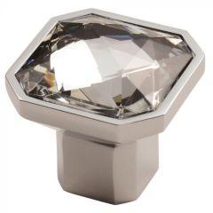 Fingertip Square Crystal Knob