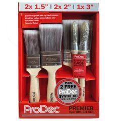 ProDec Premier Synthetic 5 Brush Set