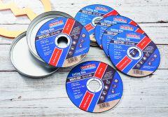 Faithfull Multi-Purpose Cutting Discs 115 x 1.0 x 22.23mm (Pack 10)