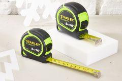 STANLEY Tylon Hi-Vis Tape Measures (5m/16ft)